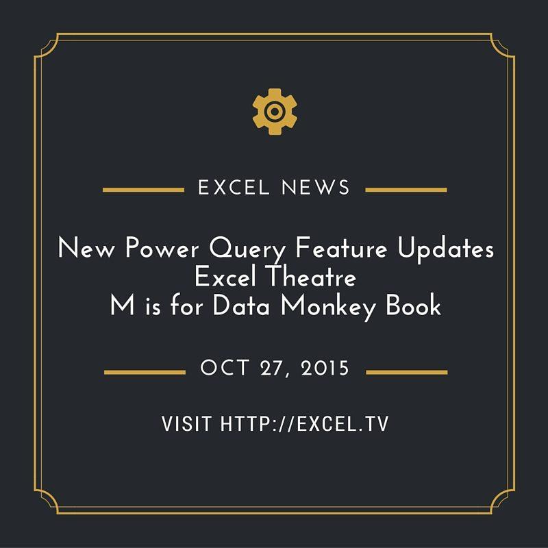 30 updates to excel 2016 � excel news � week ending 2015